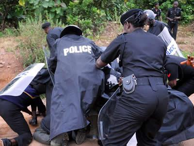 Image result for nigerian police in action